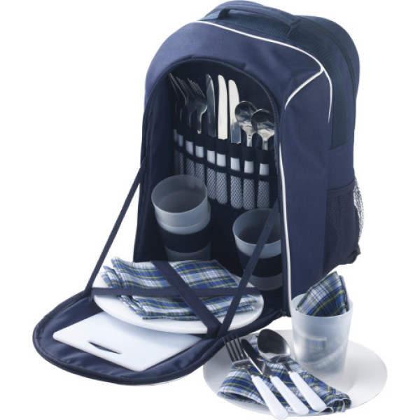 Picnic rucksack for four people
