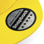 5 Panel Snapback Rapper Cap - Yellow