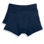 2-PACK Classic Shorty, Deep Navy, S, FOL