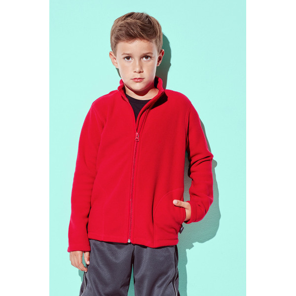 Stedman Polar Fleece Cardigan for kids