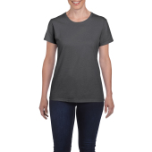 Gildan T-shirt Heavy Cotton SS for her Dark Heather S