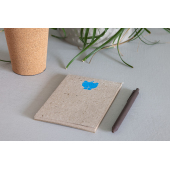 Notepad made from elephant poo- grey