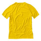 Niagara cool fit heren T-shirt korte mouwen - geel - XL