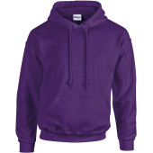 Heavy blend™ classic fit adult hooded sweatshirt purple m