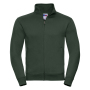 Adults Authentic Sweat Jacket, Bottle Green, 3XL, RUS