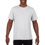 Gildan T-shirt Performance SS for him white XXXL
