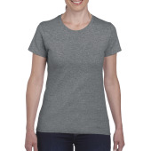 Gildan T-shirt Heavy Cotton SS for her Graphite Heather S
