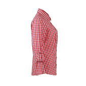 Ladies' Traditional Shirt - rood/wit
