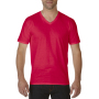 Gildan T-shirt Premium Cotton V-Neck SS for him Red XXL