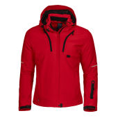 3412 3 LAYER LADY JACKET RED XS
