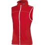 Leisure Vest Women Bright red l