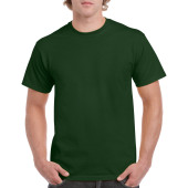 Gildan T-shirt Heavy Cotton for him Forest Green L