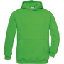 Hooded / kids real green 7/8 y (7/8 ans)