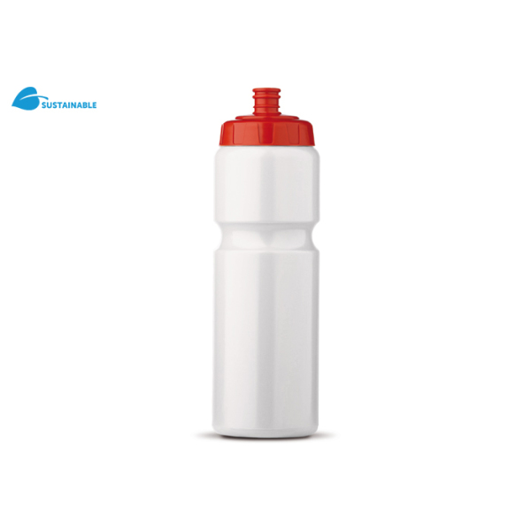 Sportbidon 750 ml wit / rood Wit / Rood 239