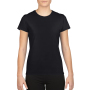 Gildan T-shirt Performance SS for her Black XXL