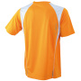 Running-T Junior oranje/wit