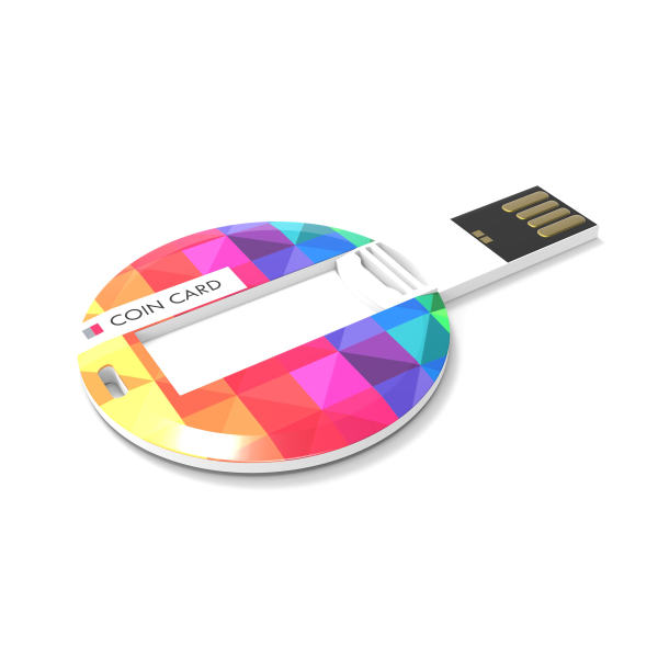 USB Coin Card Bedrukken