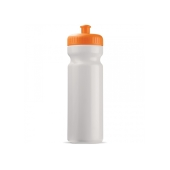 Bidon 750ml Full-Color druk wit / oranje