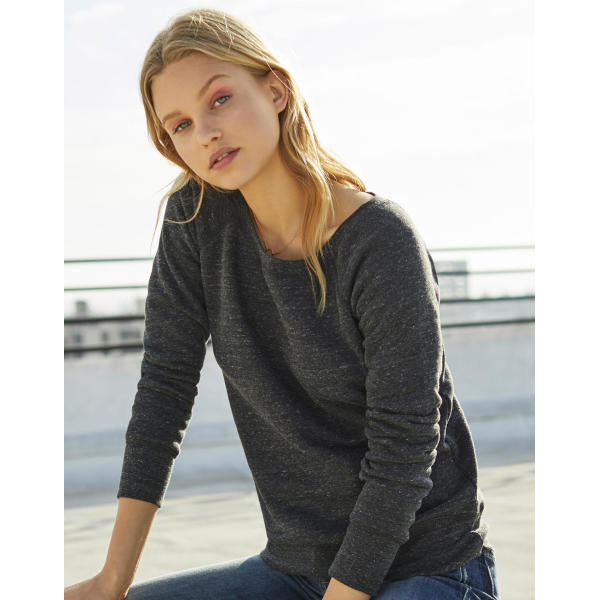 Sponge Fleece Wideneck Sweatshirt