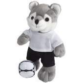 Dribble wolf plush with shirt