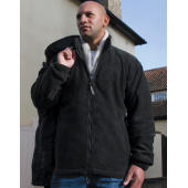 3-in-1 Jacket with Fleece - Black