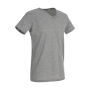 Ben V-neck - Grey Heather
