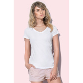 st9710 T-shirt V-neck Claire for her