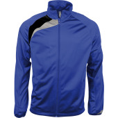 Trainingsjas sporty royal blue / black / storm grey 3xl