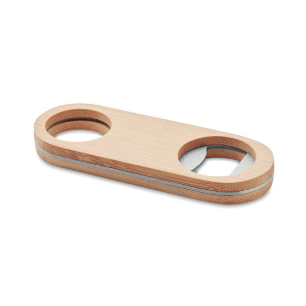VALBAMPER - Oval Bamboo bottle opener