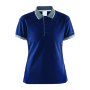 Noble polo pique shirt wmn navy/da.grey xxl