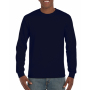Gildan T-shirt Ultra Cotton LS Navy S