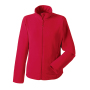 Dames Fitted Full Zip Microfleece S Classic Red
