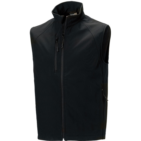 Men's softshell gilet
