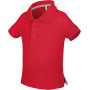 Baby polo korte mouwen red 6m