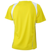Ladies' Running-T - geel/wit