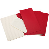 Cahier Journal L - gelinieerd - Cranberry rood
