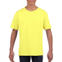 Gildan T-shirt SoftStyle SS for kids Cornsilk S