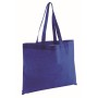 "Non-woven shopping bag""Market"",blue"