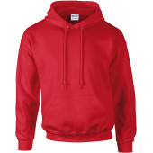 Dryblend® adult hooded sweatshirt® red xl