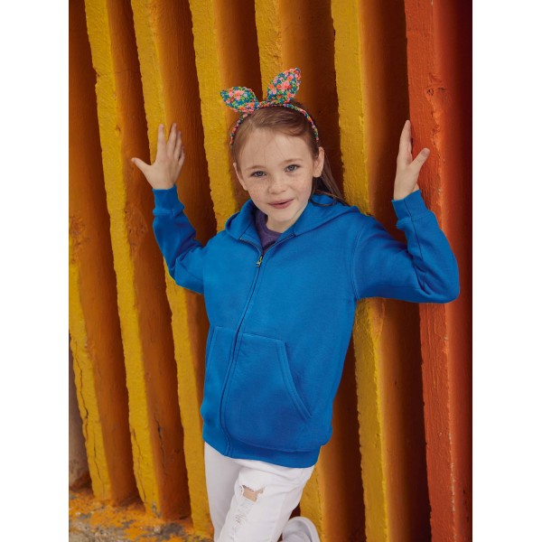 Kids classic hooded sweat jacket (62-045-0)