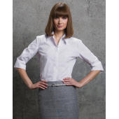 Women's Tailored Fit Continental Blouse 3/4 Sleeve