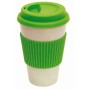 "coffee mug 400ml apple green ""eco cup"""