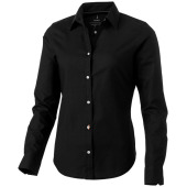 Vaillant oxford dames blouse met lange mouwen