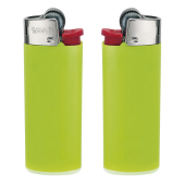 J25 Lighter BO apple green_BA white_FO red_HO chrome