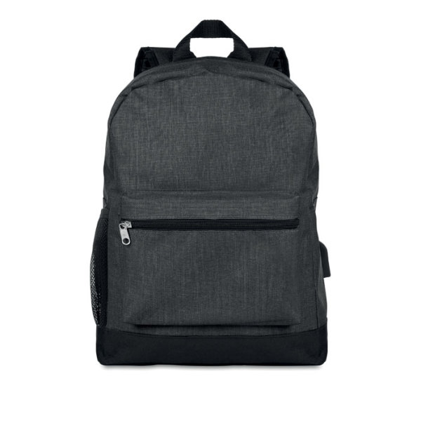 BAPAL TONE - 600D 2 tone polyester backpack