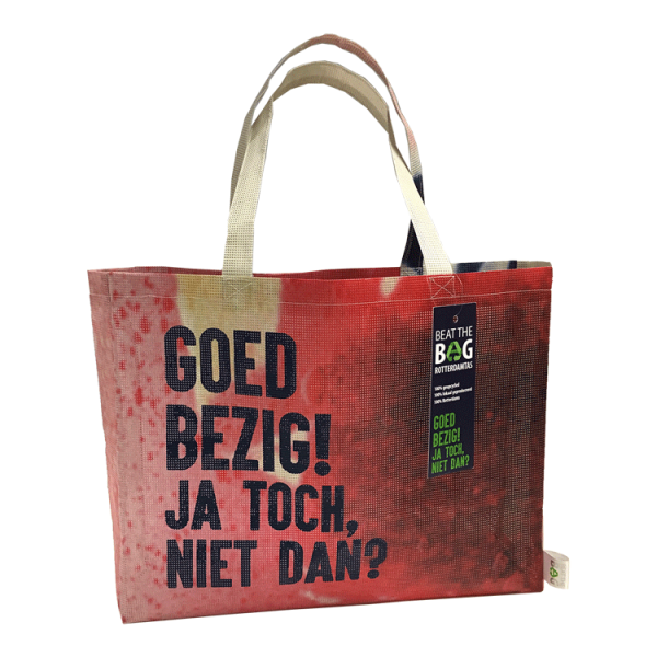 Eco beat the bag - shopping bag