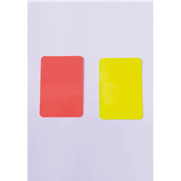 Referee cards