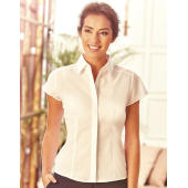 Ladies' Fitted Poplin Shirt