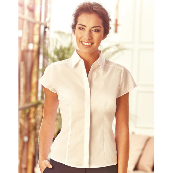 Ladies S/SL Poplin