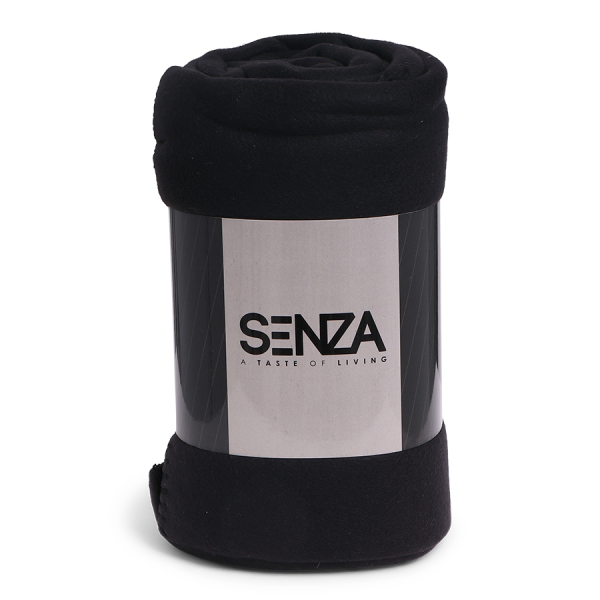 SENZA Basic Blanket Black